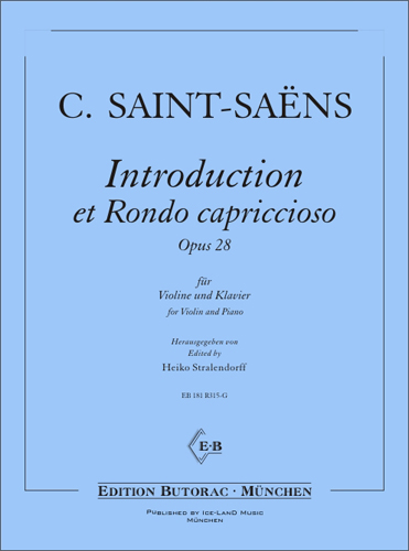 Cover - Saint-Saëns, Introduction et Rondo capricioso