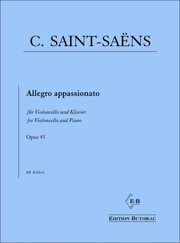 Cover - Saint-Saëns, Allegro appassionato